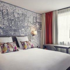 Отель Mercure Paris Tour Eiffel Grenelle 4* Стандартный номер с двуспальной кроватью