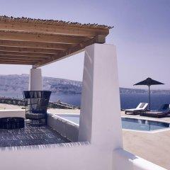 Отель Santo Maris Oia, Luxury Suites & Spa 5* Вилла Делюкс с различными типами кроватей фото 14