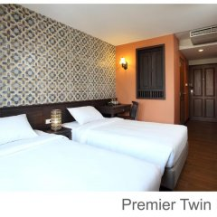 Отель Rambuttri Village Inn & Plaza 3* Улучшенный номер с различными типами кроватей фото 6