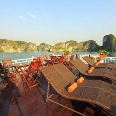 Отель Halong Golden Bay Cruise бассейн фото 2