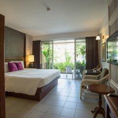 Отель Phuket Orchid Resort and Spa 4* Стандартный семейный номер с разными типами кроватей фото 14