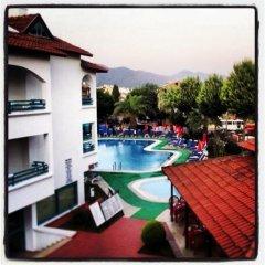 Club Likya Apartment Турция, Мармарис - отзывы, цены и фото номеров - забронировать отель Club Likya Apartment онлайн бассейн фото 3