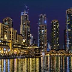 Апартаменты Downtown Al Bahar Apartments Дубай приотельная территория