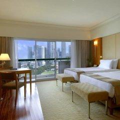 Отель Fairmont Singapore 5* Номер Делюкс фото 4