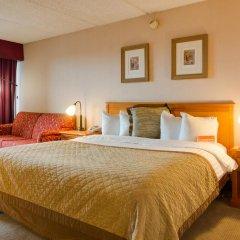 Howard Johnson Inn Fullerton Hotel and Conference Center комната для гостей фото 4