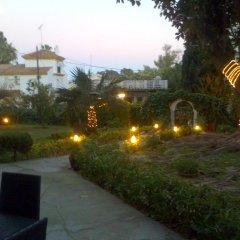 Отель Hostal Los Geranios Del Pinar Торремолинос бассейн