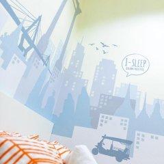 I-Sleep Silom Hostel Номер Делюкс с различными типами кроватей фото 8