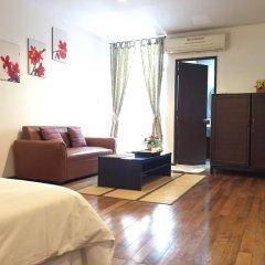 Отель Nawaporn Place Guesthouse 3* Улучшенная студия фото 29