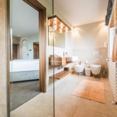 Отель Gasthof Kirchsteiger Горнолыжный курорт Ортлер ванная фото 2