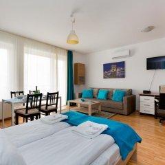 Апартаменты Sun Resort Apartments Студия Делюкс с различными типами кроватей фото 13