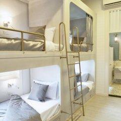 Golden Mountain Hostel Кровать в общем номере с двухъярусной кроватью фото 2