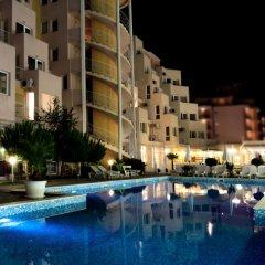 Отель Vanilla Garden Apartcomplex Болгария, Солнечный берег - отзывы, цены и фото номеров - забронировать отель Vanilla Garden Apartcomplex онлайн бассейн фото 3