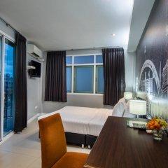 Отель @Hua Lamphong 2* Номер Делюкс с различными типами кроватей фото 3