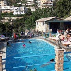 Отель Lukova Holidays Албания, Саранда - отзывы, цены и фото номеров - забронировать отель Lukova Holidays онлайн бассейн фото 2