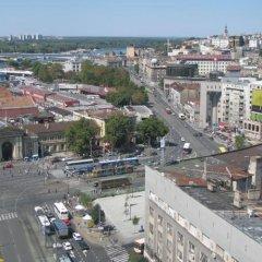 Апартаменты Apartment Beograd балкон