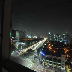 Отель Golden City Hotel Dongdaemun Южная Корея, Сеул - отзывы, цены и фото номеров - забронировать отель Golden City Hotel Dongdaemun онлайн балкон