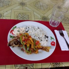IRIE Vibez hostel Порт Антонио питание