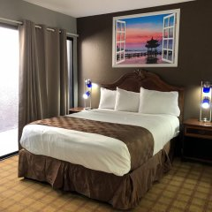 Отель Knights Inn Los Angeles Central / Convention Center Area 2* Стандартный номер с различными типами кроватей фото 9