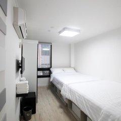 K-POP HOTEL Dongdaemun 2* Стандартный семейный номер с двуспальной кроватью фото 2
