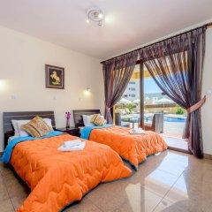 Отель Fig Tree Bay Villa 6 Кипр, Протарас - отзывы, цены и фото номеров - забронировать отель Fig Tree Bay Villa 6 онлайн комната для гостей фото 5