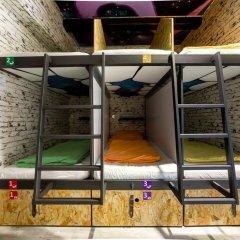 Chillout Hostel Zagreb Кровать в общем номере с двухъярусной кроватью фото 26