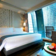 Отель Citrus Sukhumvit 13 by Compass Hospitality 3* Представительский люкс с различными типами кроватей фото 3
