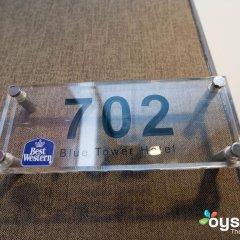 Отель XO Hotels Blue Tower 4* Представительский номер с различными типами кроватей фото 7