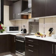Al Waleed Palace Hotel Apartments Oud Metha 4* Студия с различными типами кроватей фото 5
