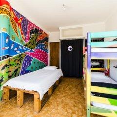 Hostel & Surfcamp 55 Кровать в общем номере двухъярусные кровати фото 7