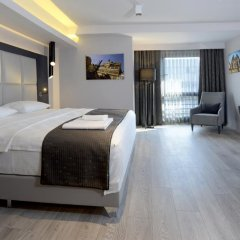 Smart Hotel Izmir 4* Номер Бизнес с различными типами кроватей фото 14