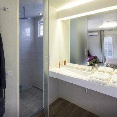 Отель Camping Village Roma Улучшенное бунгало с различными типами кроватей фото 2