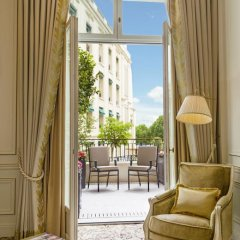 Shangri-La Hotel Paris 5* Улучшенный номер с различными типами кроватей фото 6