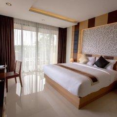 Отель Aqua Resort Phuket 4* Стандартный номер с двуспальной кроватью фото 8