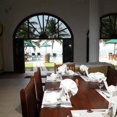 Отель Royal Beach Resort Шри-Ланка, Индурува - отзывы, цены и фото номеров - забронировать отель Royal Beach Resort онлайн питание фото 2