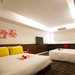 ECFA Hotel Ximen 2* Стандартный номер с различными типами кроватей фото 8