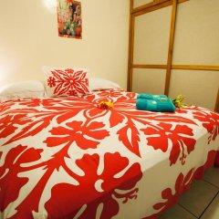 Отель Farehau Стандартный номер с двуспальной кроватью (общая ванная комната) фото 3