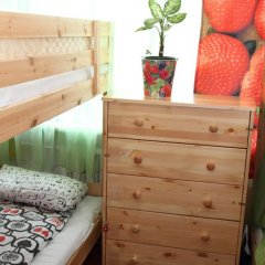 Хостел Friday Кровать в общем номере с двухъярусными кроватями фото 16