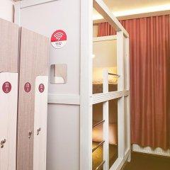 Хостел Привет Кровать в мужском общем номере двухъярусные кровати фото 9