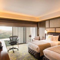 Отель Pan Pacific Singapore 5* Номер Panoramic с двуспальной кроватью фото 2