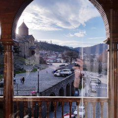Tiflis Metekhi Hotel 3* Стандартный номер с 2 отдельными кроватями фото 3
