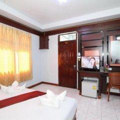 Отель Lanta Paradise Beach Resort 3* Улучшенное бунгало с различными типами кроватей