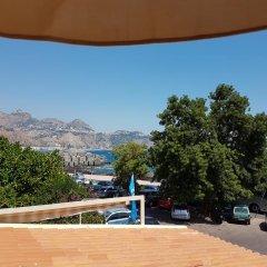 Hotel Ristorante Porto Azzurro Джардини Наксос балкон