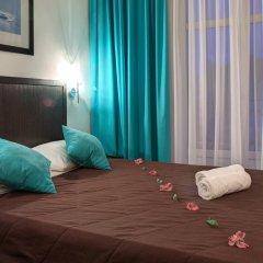 Гостиница Голубая Лагуна Стандартный номер двуспальная кровать