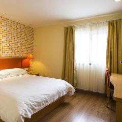 Отель Home Inn Xi'an North Yanta Road Lijiacun Wanda Plaza комната для гостей
