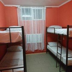 Хостел Кутузова 30 Кровать в общем номере с двухъярусной кроватью фото 13