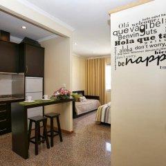 Hotel do Norte 2* Студия с различными типами кроватей фото 8