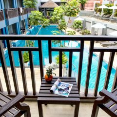 Отель Buri Tara Resort балкон
