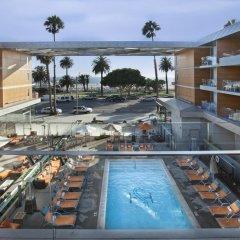 Отель SHORE Санта-Моника бассейн