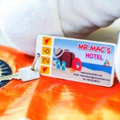 Отель MR.MAC'S 3* Стандартный номер фото 11