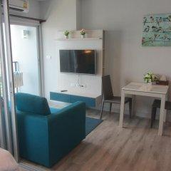 Отель Centric Sea Pattaya Апартаменты с различными типами кроватей фото 35